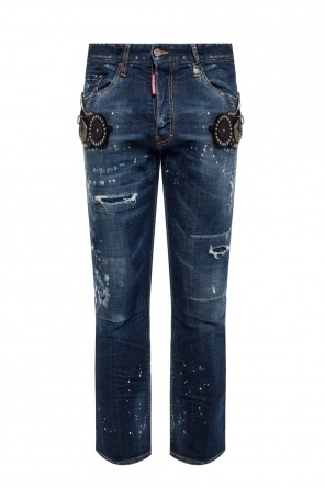'cropped flare jean' jeans od Dsquared2