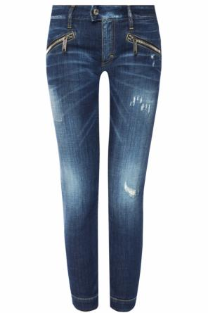 Jeans with hole od Dsquared2