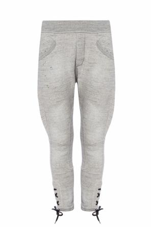 Sweatpants with decorative lacing od Dsquared2