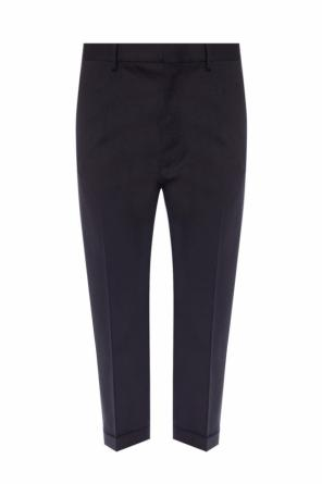 Wool creased trousers od Dsquared2