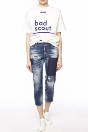 'boyfriend jean' narrow leg jeans od Dsquared2