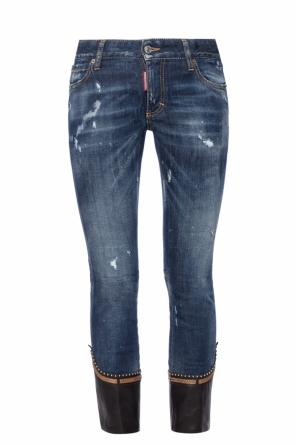 'runway flare cropped jean' jeans od Dsquared2