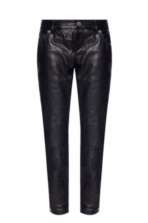 Leather pants with pockets od Dsquared2