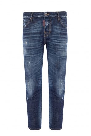 'cool girl cropped jean' distressed jeans od Dsquared2