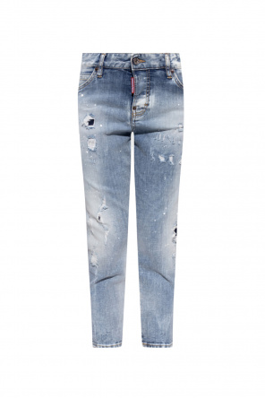 'cool girl cropped jean' jeans od Dsquared2