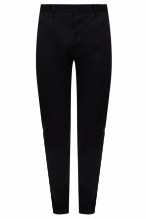 Wool pleat-front trousers od Dsquared2