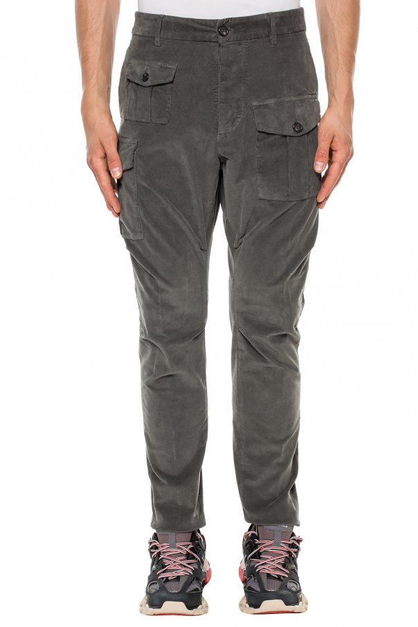 'sexy cargo fit' corduroy trousers od Dsquared2
