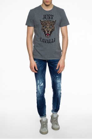 'slim jean' jeans with holes od Dsquared2