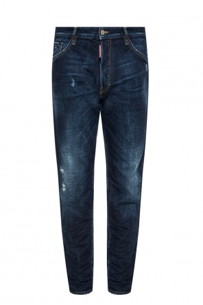 'run dan jean' jeans with holes od Dsquared2