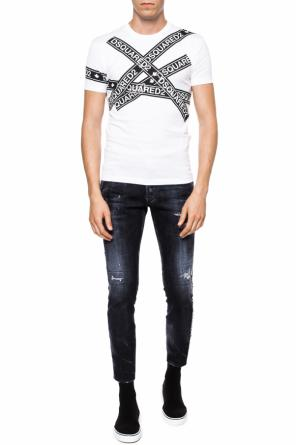 'skater jean' jeans with logo od Dsquared2