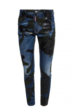 Patterned jeans od Dsquared2