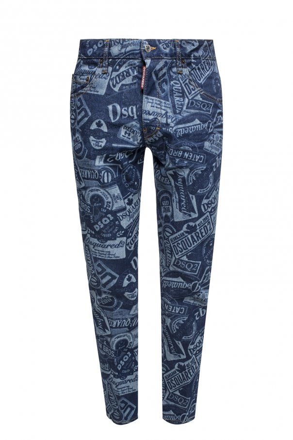 Jeansy 'Skater Jean' by Dsquared2