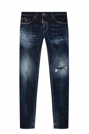 'anniversary super low jean' distressed jeans od Dsquared2