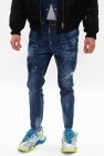 Dsquared2 'Relax Crotch Jean' raw edge jeans