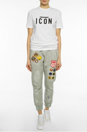 Patched sweatpants od Dsquared2