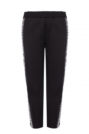 'hockney fit' trousers with zip cuffs od Dsquared2