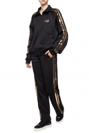 Sequinned sweatpants od Dsquared2