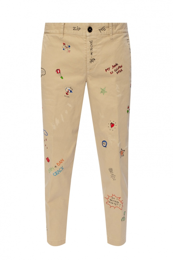 Dsquared2 'Hockney Fit' trousers