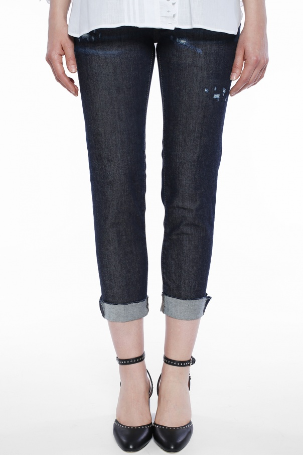 'medium waist skinny cropped jean' jeans od Dsquared2