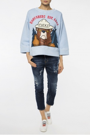 Jeansy 'cool girl cropped jean' od Dsquared2