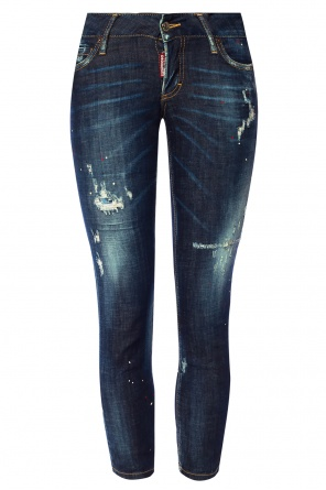 Jeansy 'jennifer cropped jean' od Dsquared2
