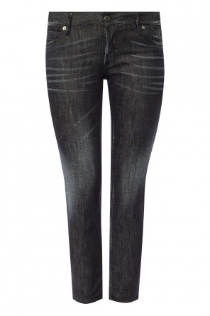 'jennifer cropped jean' tapered leg jeans od Dsquared2