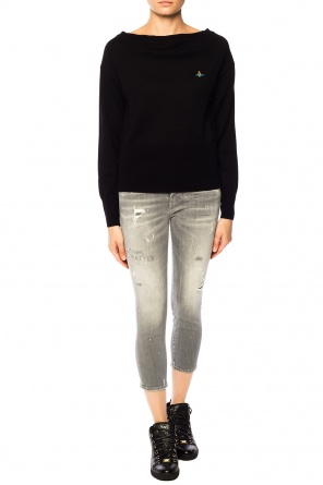 'super skinny cropped jean' jeans od Dsquared2