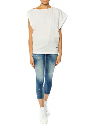 'cropped twiggy jean' tapered leg jeans od Dsquared2