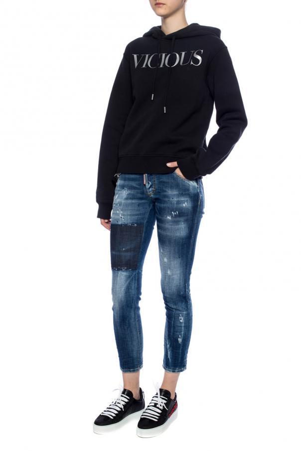 'jennifer cropped jean' jeans od Dsquared2