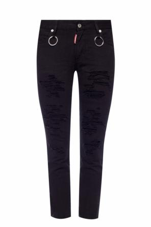 'runway straight cropped jean' jeans od Dsquared2