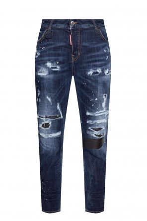 'cool girl jean' raw-cut jeans od Dsquared2