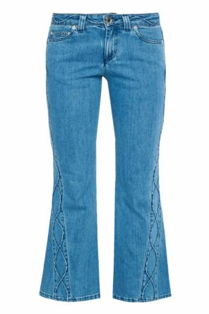 Jeans with stitching details od See By Chloe