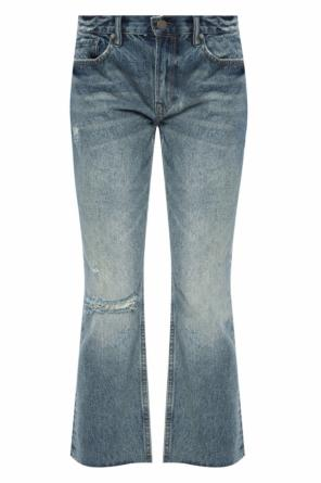 'serene' cropped jeans od Allsaints