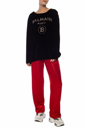 Textured sweatpants od Balmain
