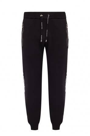 76c92522f6 ... Spodnie dresowe z paskami z logo od Balmain