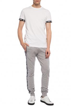 7aa7db05d9 Spodnie dresowe z paskami z logo od Balmain ...