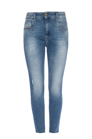 'slandy' distressed jeans od Diesel
