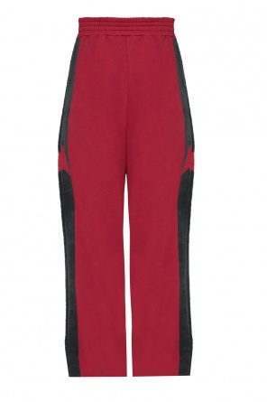 Flared side-stripe trousers od Golden Goose