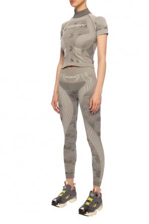 'military' leggings with logo od MISBHV