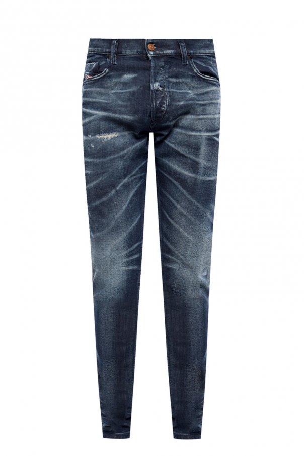 Diesel 'Tepphar-X' raw hem jeans