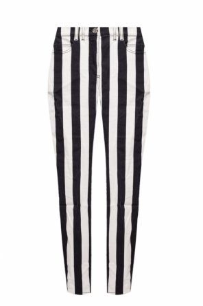 Striped trousers od Balmain