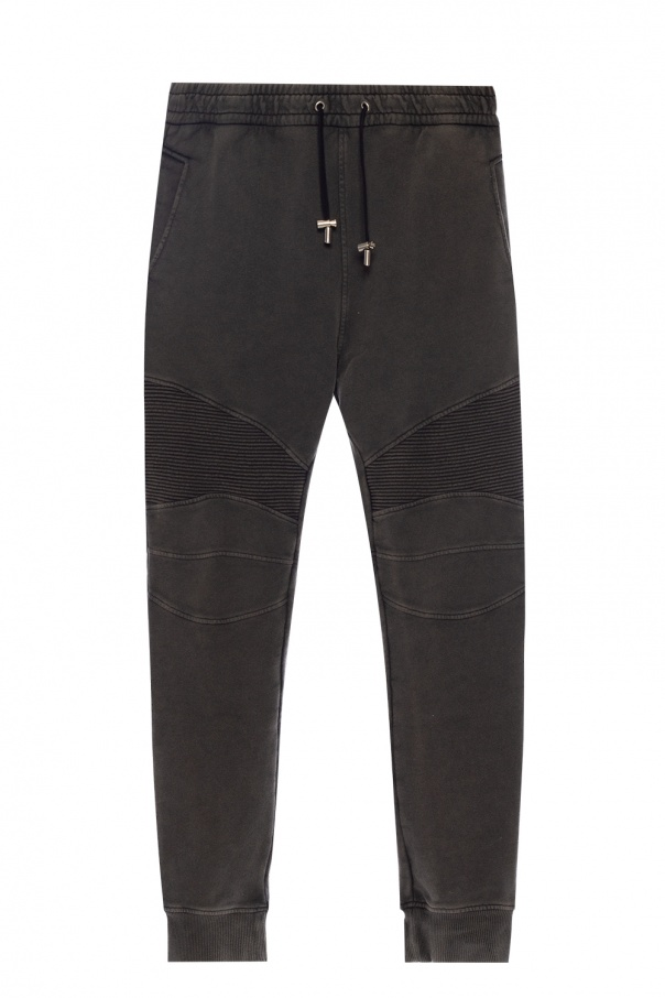 Balmain Ribbed sweatpants