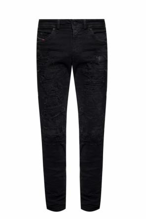 'thommer' raw edge jeans od Diesel