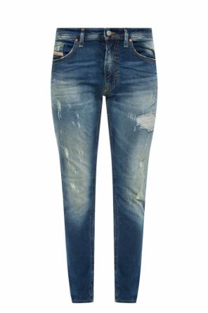Thommer' jeans with holes od Diesel
