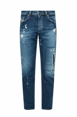 'thommer-t' distressed jeans od Diesel