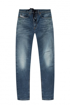 'thommer jogg' jeans with gathers od Diesel