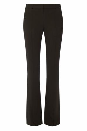 Pleated flared trousers od Victoria Beckham
