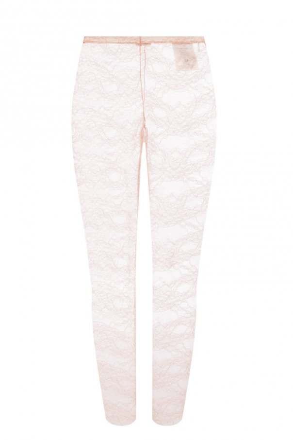 Lace leggings od Red Valentino