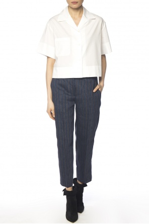 Pleat-front trousers od Acne