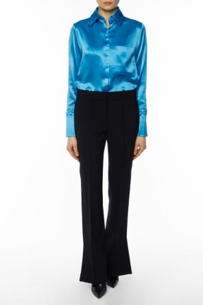 Pleated flared trousers od Victoria Victoria Beckham